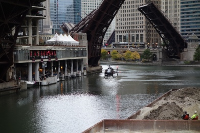Helicopter Chicago River