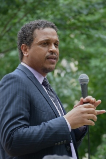 Troy LaRaviere at the 2015 Bughouse Square Debates.