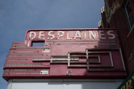 Des Plaines Theater. 1476 Miner Street, Des Plaines