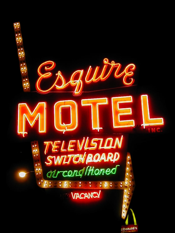 Esquire Motel. 6145 N Elston Ave.