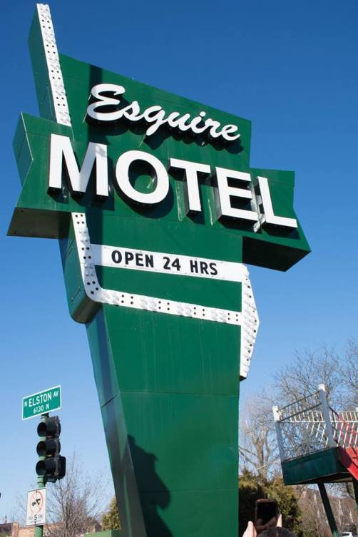 Esquire Motel 6145 N Elston Ave.