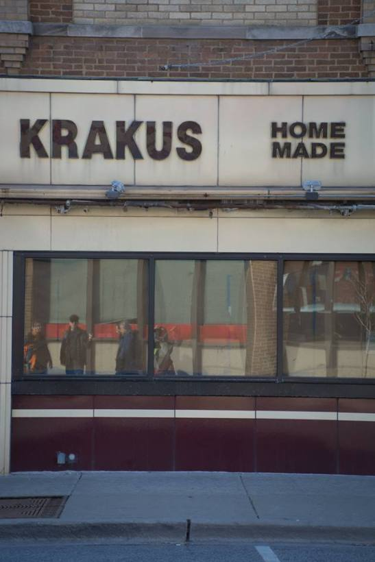Krakus Homemade Sausage. 4772 N Milwaukee Ave.
