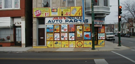 Julio's Auto Parts. 3000 W Diversey Ave.